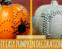 3 Easy DIY Pumpkin Decorations – HGTV Handmade