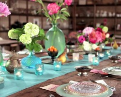 Artful Wedding Table Settings