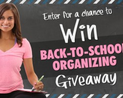 Back-to-School Giveaway 2014-2015