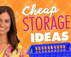 Cheap Storage Ideas – Dollar Store Haul