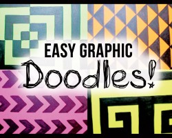 DIY Graphic DOODLES!
