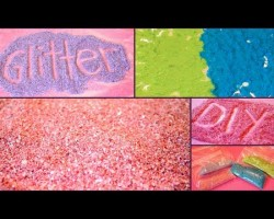 DIY How to Make GLITTER! ✽ Easy & Inexpensive