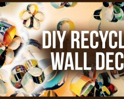 DIY Recycled Unique Wall Decor