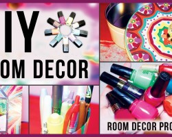 DIY Room Decor & Room Art with Nail Polish! Many Room Ideas to Decorate and Spice UP Your Room!