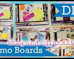 DIY Room Inspiration Board! Wall Art Decor for Organizing and Decorating!