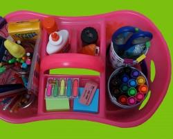 Homework Organization Caddy for Students