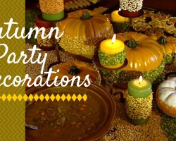 How To Give Your Party An Autumn Season Look – DIY Network