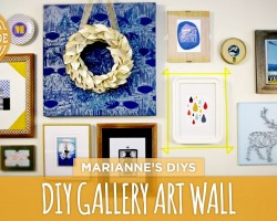 How To Make a Gallery Wall – HGTVHandmade