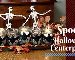 How to Make a Halloween Centerpiece