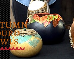 How to Make an Autumn Gourd Bowl – DIY Network