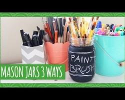 Mason Jars 3 Ways – Weekly Recap – HGTV Handmade