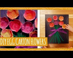 Mother's Day Egg Carton Flowers – HGTV Handmade