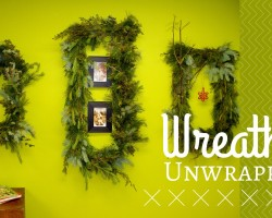 Wreaths Unwrapped-DIY