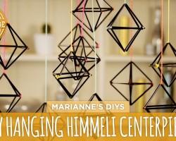 DIY Himmeli Centerpiece – HGTV Handmade