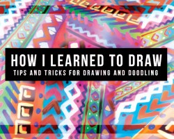 How I Learned to Draw! Tips and Tricks on Drawing and Doodling // DIY Tutorial DazzleDIY