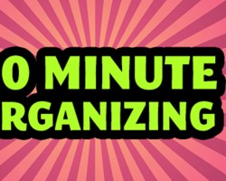 30-Minute Daily Organizing Using Time Timer