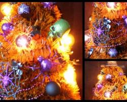 DIY: Halloween Room Decor Tree