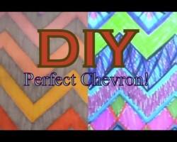 DIY: Perfect Chevron!