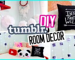 DIY Tumblr ROOM DECOR! DIY Polaroids, Urban Outffiters pillow & more!