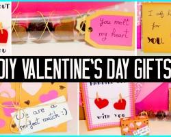 DIY Valentine's day little gift ideas! For boyfriend, girlfriend, family…Cute/cheap!