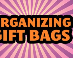 How to Organize Gift Bags & Gift Tags w/ DC Professional Organizer Alejandra Costello