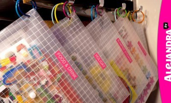 How to Organize Stickers
