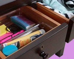 How to Organize Your Nightstand or Bedside Table