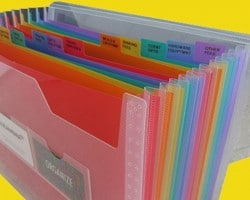 Receipt Organizer for Home Office Organization