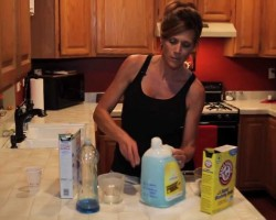 Saving Money In The Home-E02 DIY Laundry Soap Update