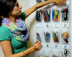 School Supply Organization: How to Organize Small Supplies at Home