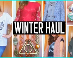Try on clothing haul! Winter 2015 :)