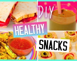 DIY Healthy Snacks for Summer! Yummy Treats! Sweet & Savoury