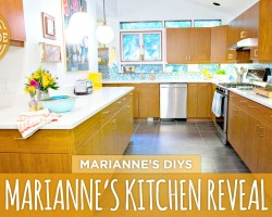 Marianne's Finished Kitchen Renovation – HGTV Handmade