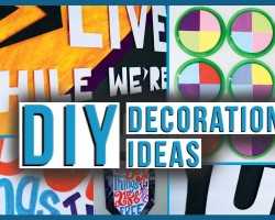 DIY Affordable + Inexpensive Decoration IDEAS for your Walls!