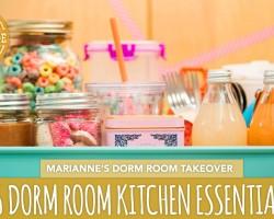 16 Back-to-School Dorm Room Kitchen Essentials  –  HGTV Handmade Dorm Room Takeover