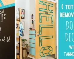 3 Totally Removable Dorm Decor DIYs With Tanner Bell – HGTV Handmade