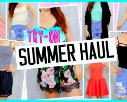 TRY-ON Summer Haul! ❤❤❤
