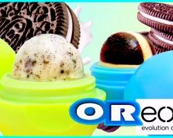 DIY OREO EOS Lip Balm! Out Of REAL Oreos! Lip balm & Lip Scrub