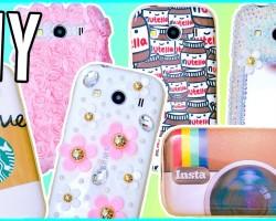 DIY Phone Cases | Nutella, Starbucks, Instagram & More!