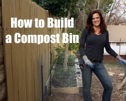 How to Build a Compost Bin – Quick, Simple and Inexpensive