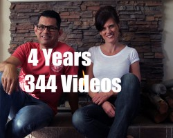 4 years – 344 Videos – Still Going Strong