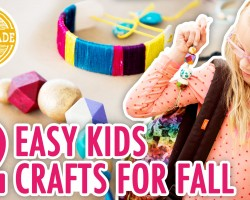 2 Fall Kids' Crafts with Special Guest Lulu! – HGTV Handmade