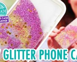 DIY Colorful Glitter Phone Case – HGTV Handmade Phone Case Challenge