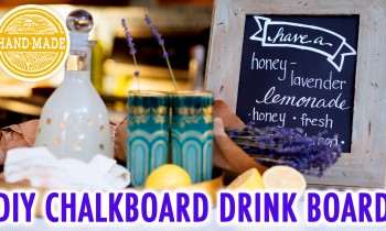 DIY Distressed Frame Drink Board – HGTV Handmade