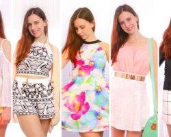 12 Spring/Summer outfits 2016! Spring Lookbook/Haul   Diylover