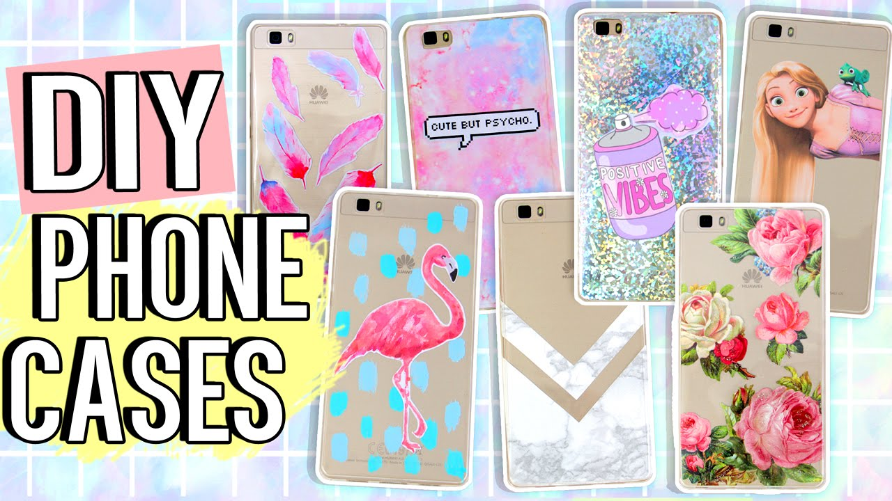 10 diy phone case ideas using one case marble holo for How to make phone cases at home
