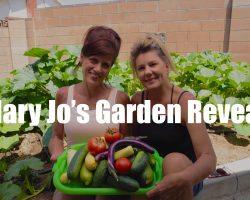 $10 Garden Series #12 – Mary Jo's Garden Reveal – Unbelievable!  In 4K