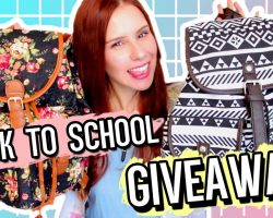 Huge BACK To SCHOOL GIVEAWAY 2016! TWO Winners! (CLOSED)