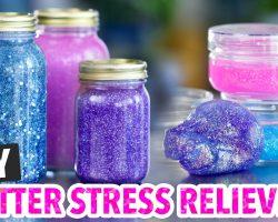 DIY Calming Glitter Jars & Glitter Slime – HGTV Handmade