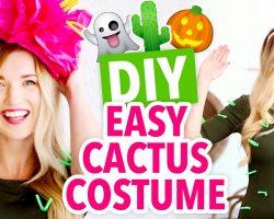 DIY Last-Minute Cactus Costume – HGTV Handmade